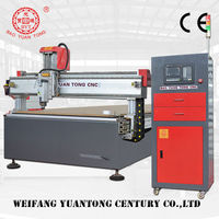 HOT! Aluminum/wood/PMMA CNC cutting machine