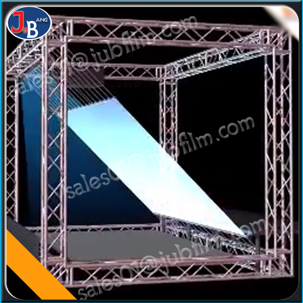 wholesale china supplier 3D Holographic Display/ Stage Holographic Foil/Hologram Display reflective film