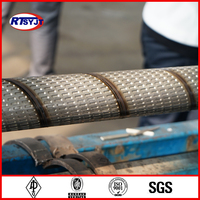 Stainless Steel Oil Sand Control Pipe,Spiral Welded Tube,Bridge Sotted Screen Pipe