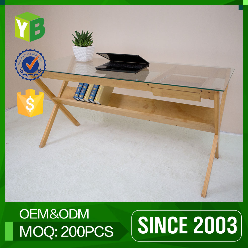 Yibang Green Product Carb Certificate Hardwood Mini Sample Computer Table Price