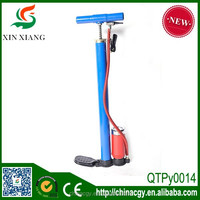 yiwu xinxiang manufacturer blue bicycle pump price of bicycle foot pump