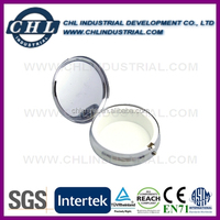 Factory direct round metal pill container