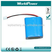 12V 4400mah 18650 Li-ion rechargeable battery/akku packs