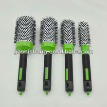 professtional heat resistant ceramic hairbrush