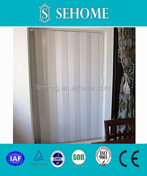 Thin slice(0.6mm) pvc partition folding door & Thin slice(0.6mm) pvc partition folding door View pvc folding ...