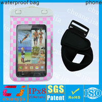 New design waterproof case for samsung galaxy note pro