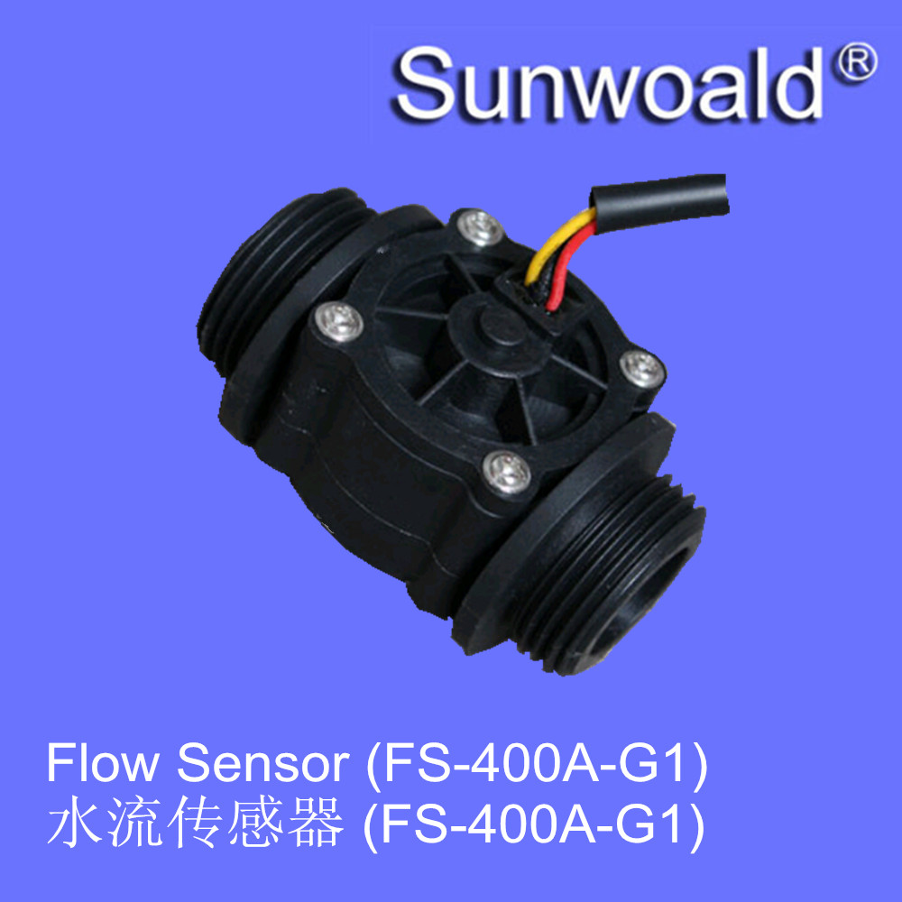 "FS-400A G1"" plastic hall water rate flow meter sensor <strong>1</strong>"