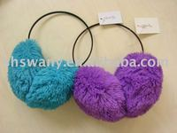 2012 fashion warm ear muffs blue