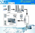Automatic coconut water filling sealing machine