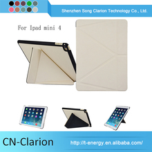 For Apple Ipad Mini 4 Case Cover, For Ipad Mini 4 Stand Case origami Tablet Universal Case