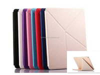 Alibaba case for ipad mini stand feature leather case for ipad wholesaler