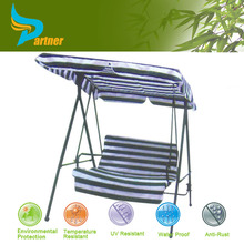 Modern Outdoor Patio Swing Chair Hanging Pod Chair / Two Seat Patio Swing with Canopy