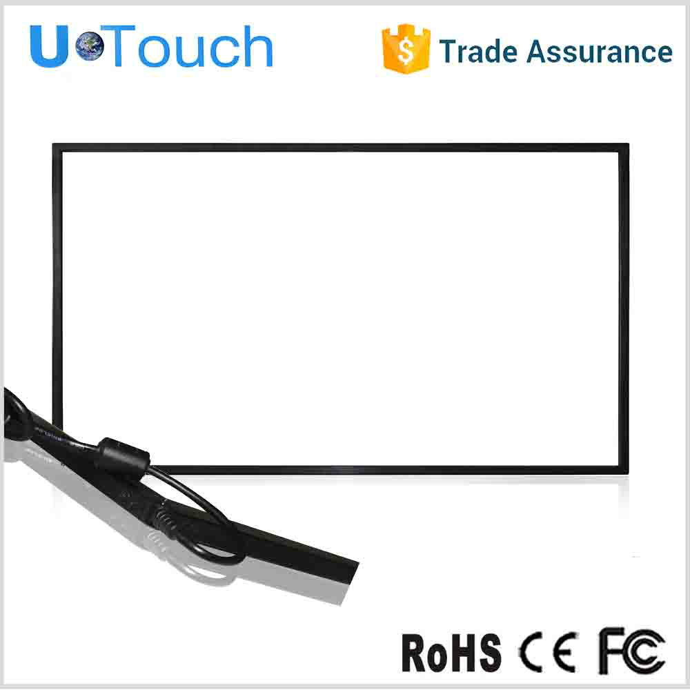 32-inch Touch Monitor Display, Industrial Metal Casing and Tempered Glass Front Frame