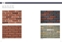 Supply Red cultural stone wall cladding exterior wall tile