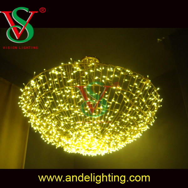 3M Hot sale christmas party wedding decoration ceiling curtain light