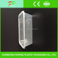 Rectangular PP Disposable Takeaway Containers Food