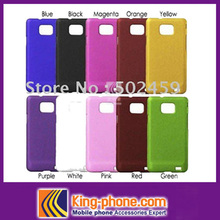 Matte PC hard phone case for Samsung I9100, protective back cover for samsung