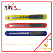 ABS Plastic light steel blade utility cutter knife