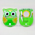 Novel designed stainless steel manicure set in a owl-shaped pouch