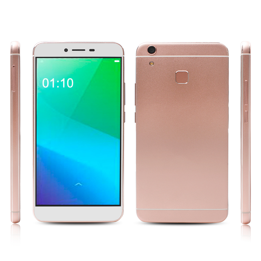 High Quality 4G LTE Smart Phone Quad Core RAM2GB ROM32GB FHD Metal Case 5.5inch Fingerprint Mobile