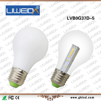 Led Bulb lamp with EPISTAR CHIP,Bulbs LED E27,3w/5w LED lamp