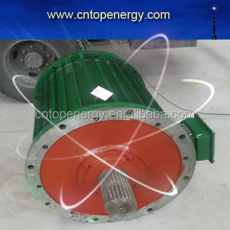 350kw 500kw 300rpm AC output 3 phase IP44 Low Rpm Neodymium synchronous Hydro Electric permanent magnet Generator