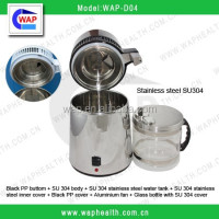 CE approved WAP-health ground contact glass bottle water distillation machine