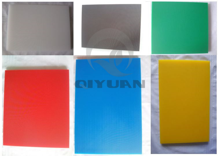 Thermoplastic PE cutting board with Well production speed