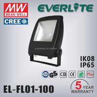 100w led flood light with CE and SAA certificate floodlight housing