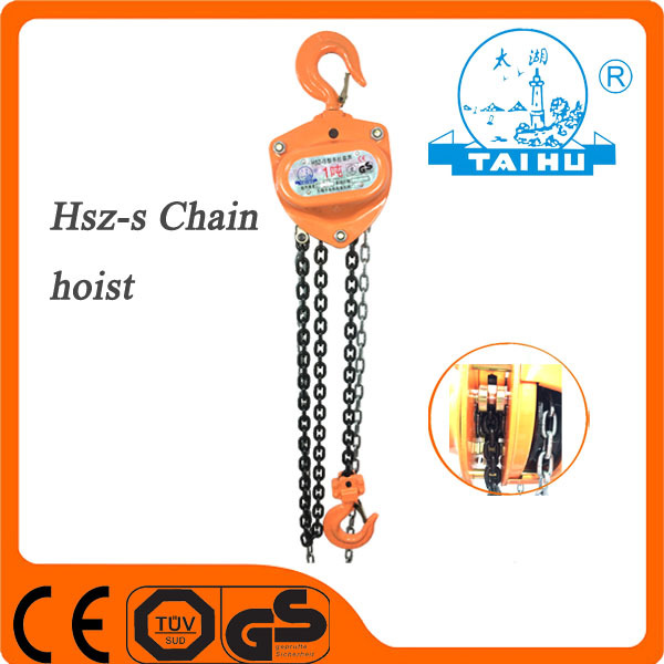 TAIHU Professional Manufacturer Demag Chain Hoist With CE TUV