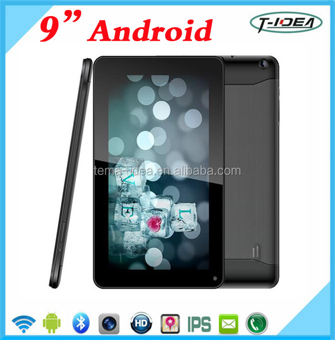 9 Inch Android Tablet Pc With 3D Glasses,Quad Core Android Tablet With Bluetooth Dual Cameras