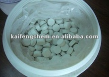 Pool chlorine tablet and granular
