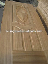low price melamine/veneer hdf door skin manufacture