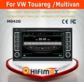 Car dvd navigation for vw touareg multimedia gps navigation system Android 4.4.4 with bulit-in wifi & mirror link