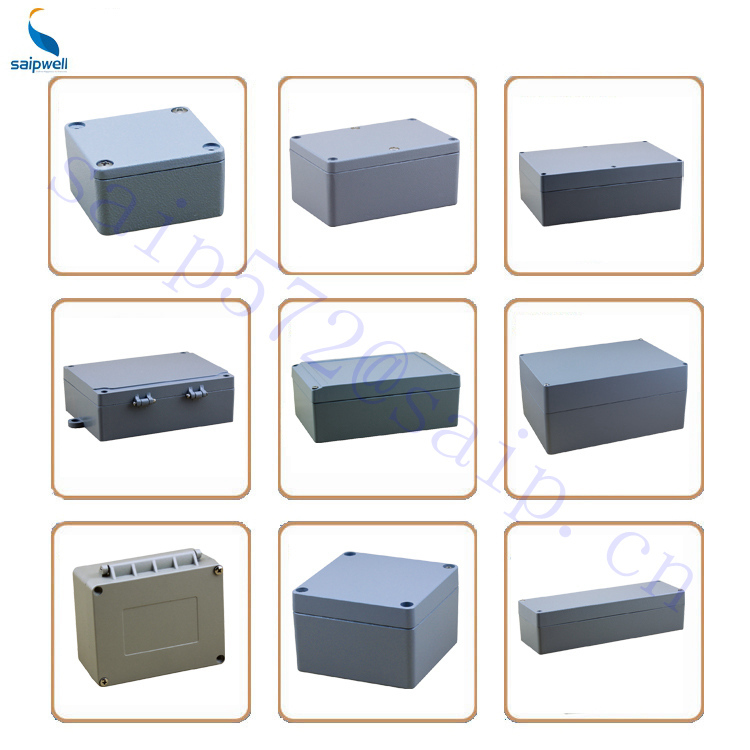 Saipwell High Quality Aluminum Extruded Enclosure With CE Certification / IP66 Enclosure