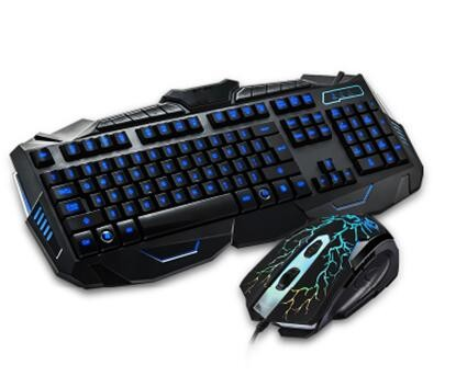 Gaming keyboard,led color backlight gaming keyboard with gaming mouse