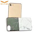 Black and white marble tpu for iphone 8 case