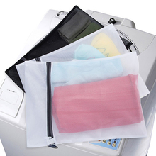 Mix Size Foldable Mesh Laundry Bags Washing Bra Lingerie Drying Bags with Zipper Protecting Wash Machine Bags