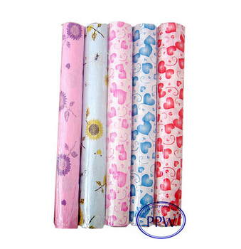 New design Fancy flower wrapping paper roll