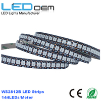 ws2812b 12mm 5V external control digital addressable rgb led strip