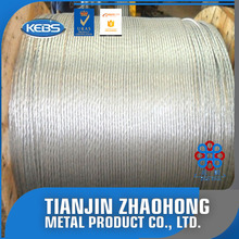 Chinese supplier High tensile strength galvanized steel wire rope