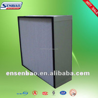 Air Conditioning System Deep-Pleated HEPA Air Filter H12