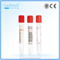 No additive vacuum blood collection plain tube (high quality vacutainer)