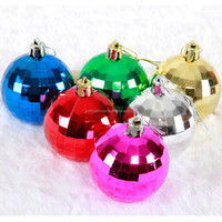 2015 new product Christmas plastic ball Christmas ornaments wholesale