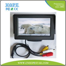Real time 4.3 inch cctv monitor for car