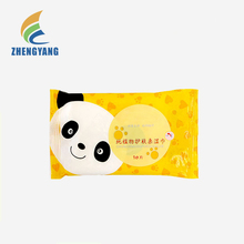 Deep Cleaning Disposable Spunlace Nonwoven Wet Wipes Embossed adult wet wipes