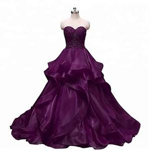 fiesta de en Vestido vestidos escote con corazón proveedores de fabricantes cuentas y gTC5q