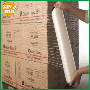 transparent hdpe stretch knitted pallet net wrap/pallet net