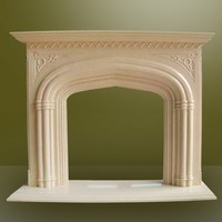 Best quality design well italian white marble fireplace mantel