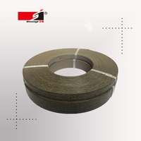 Wood grain plastic pvc edge banding tape strip for crafts